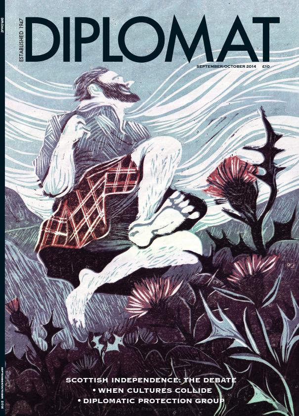 Diplomat Scotland cover
